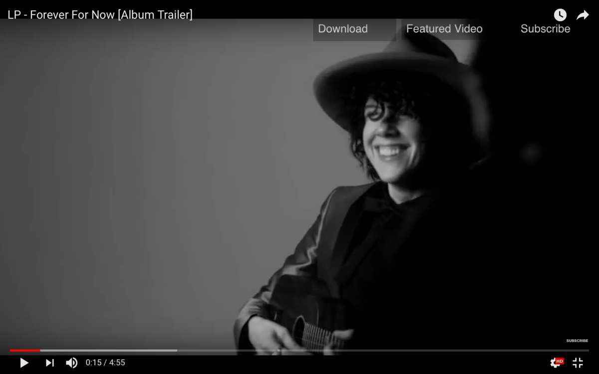 Le sourire de LP       /       https://www.youtube.com/watch?v=wDjeBNv6ip0