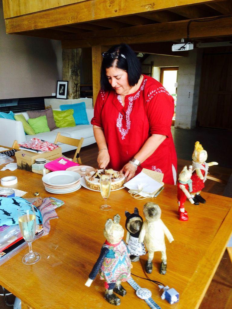 Workshop Julie Arkel chez Les Soeurs Anglaises