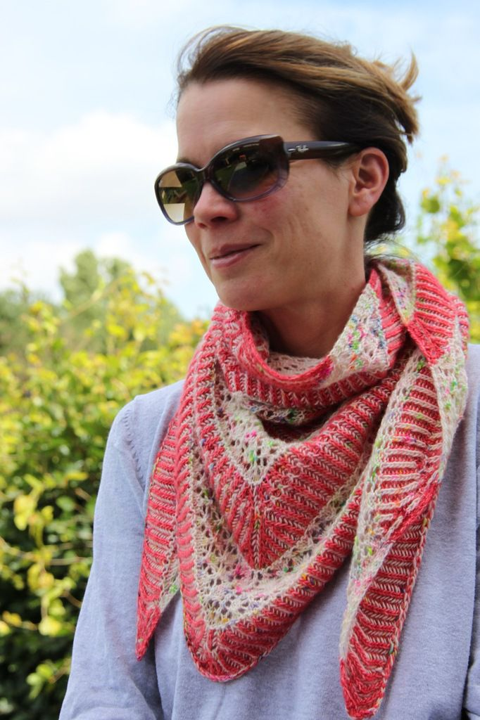 Jolene Shawl :: perfect match!