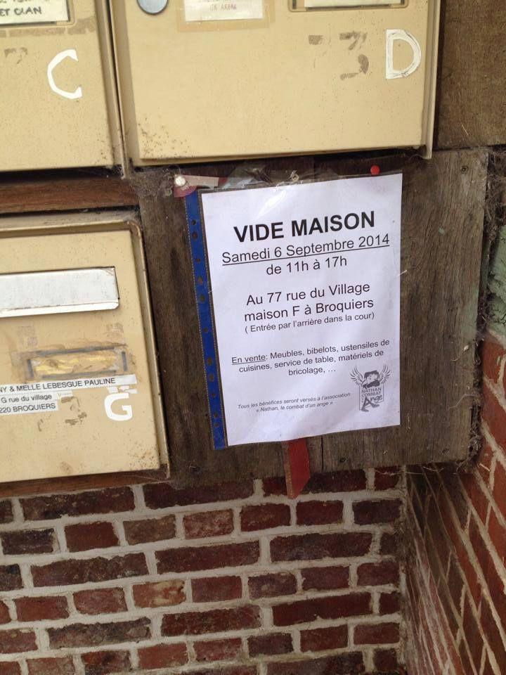 Vide Maison à Broquiers dans l'Oise au profit de l'association
