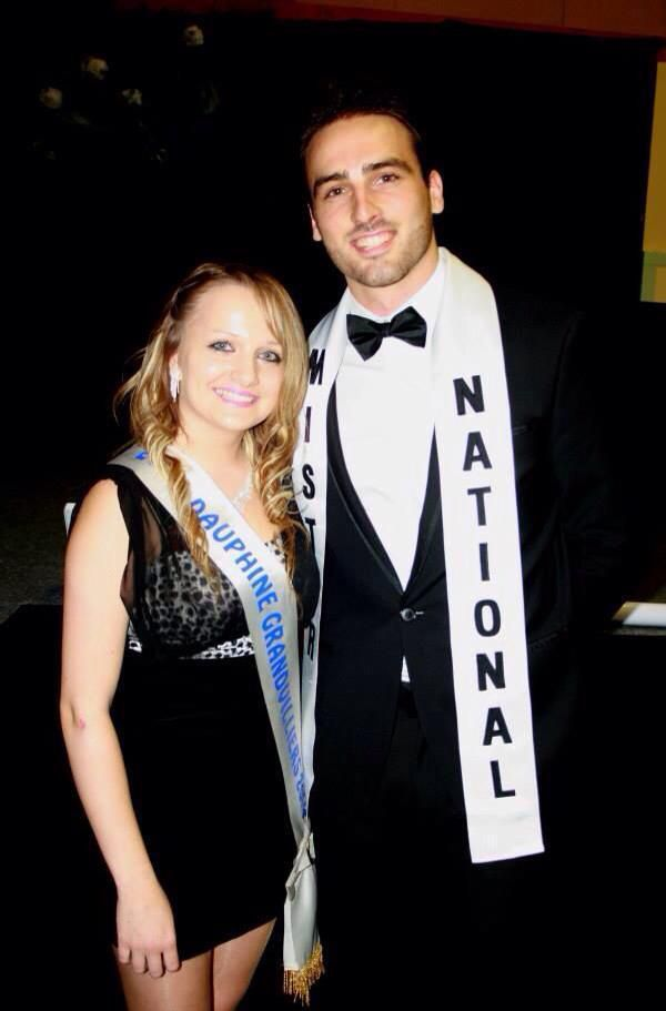 Thibault Marchand, Mister National soutient Nathan