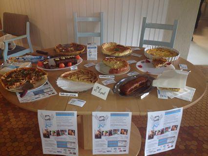 Le 16 octobre - Vente de gâteaux confectionnés par les résidents de FORMERIE (60220)