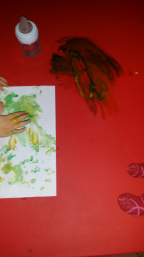 Peinture spéciale doigts