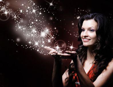 Une fée marraine et son souffle d'étoiles
