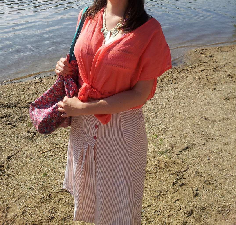 La jupe du grenier et la tunique Ba&amp&#x3B;sh de Marie Claire
