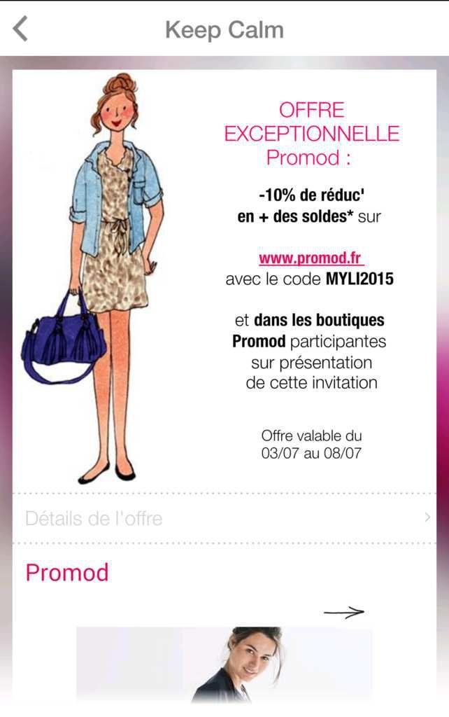 - Promod : soldes 2e démarque jusqu'à -70% et -10% en plus jusqu'au 8 juillet, sélection !
