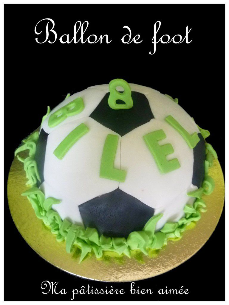 Gâteau football