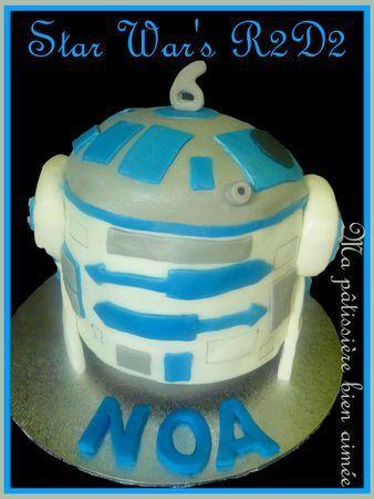 Gâteau R2D2 STAR WAR'S
