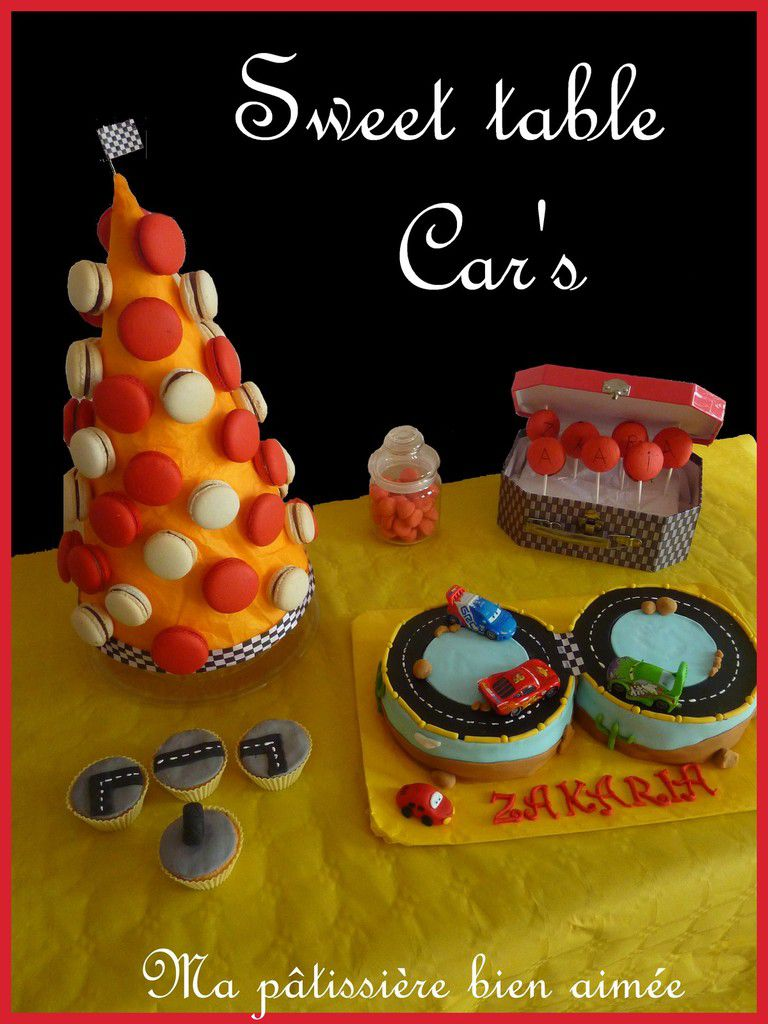 Sweet table car's                  Table gourmande car's