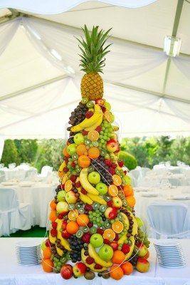 Pyramide de fruits