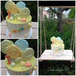 Layer Cake Glacage Multicolor
