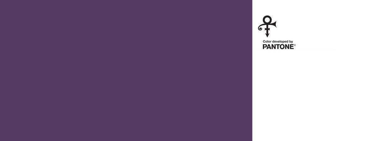 Pantone, rend hommage à Prince en lui dédiant un violet particulier... Le Love Symbol2