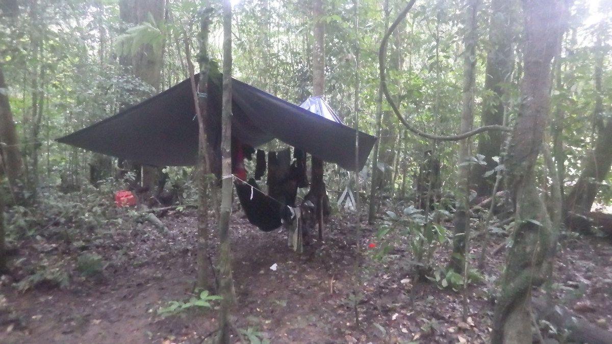 Chroniques guyanaises, une chasse en forêt avec Xavier, 17 mars 2015
