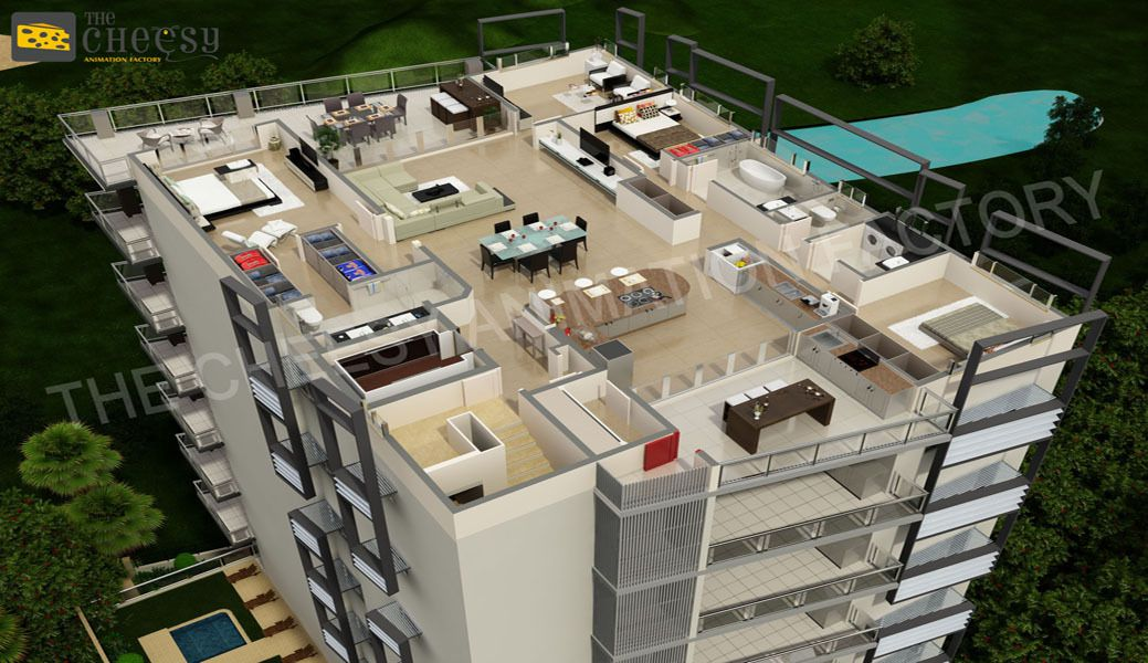 Underground House Floor Plan   House And Plans 3D Floor Plan Often Someone  Chooses To Create