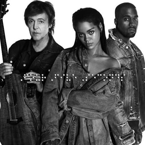 RIHANNA &amp&#x3B; KANYE WEST &amp&#x3B; PAUL McCARTNEY « FourFiveSeconds »