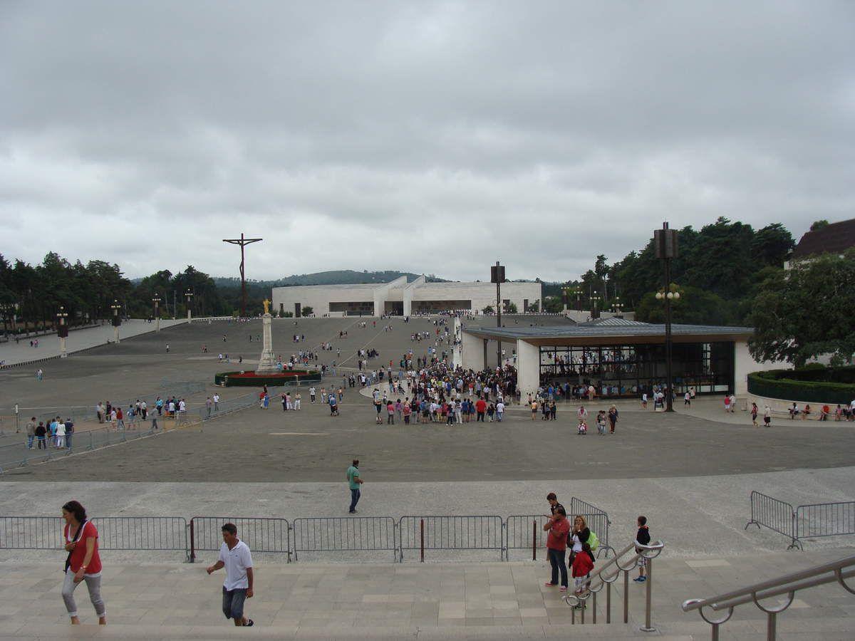 Notre magnifique voyage à Fatima au Portugal  août  2014