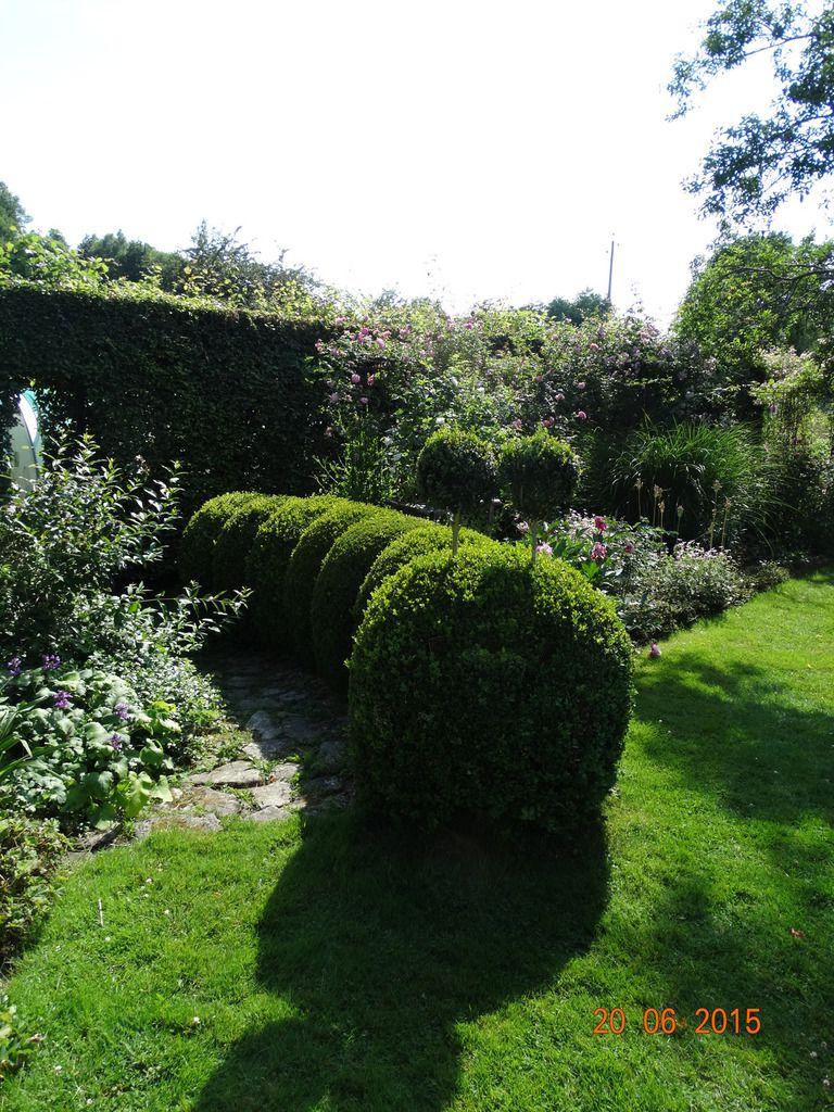 Voyage dans la Creuse ....Le jardin de la Sagne