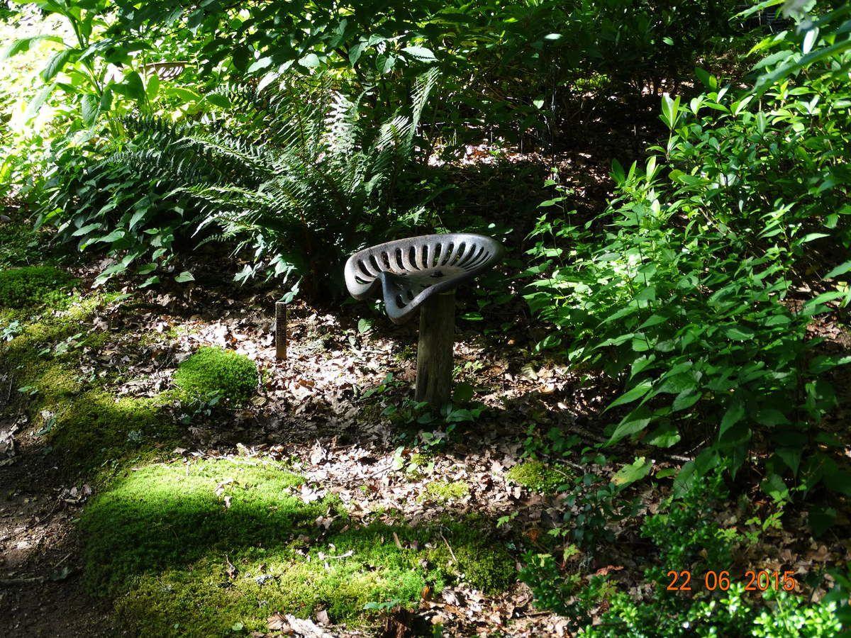 Mon voyage dans la Creuse,suite....Le jardin Val Maubrune