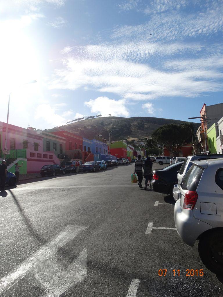 """Amusant de voir le quartier """"malais"""" de Cape Town"""