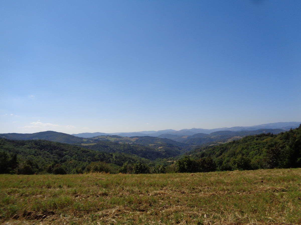 Mes randos : le col de la Mure ....en Ardèche