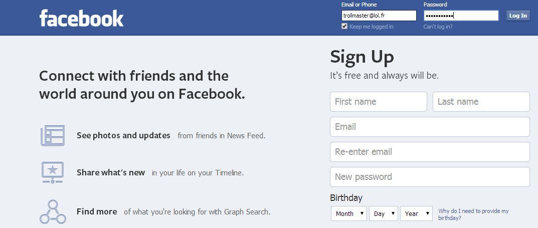 [Réseaux sociaux] Cette année, malgré votre moyenne de trois amis anglophones, vous continuez à poster sur Facebook en anglais