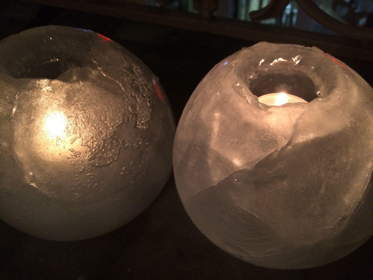 Photophores de glace