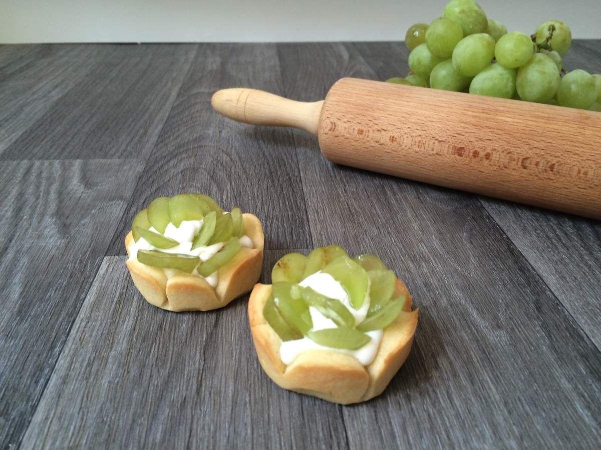 Tarte aux raisins Foodista challenge #10