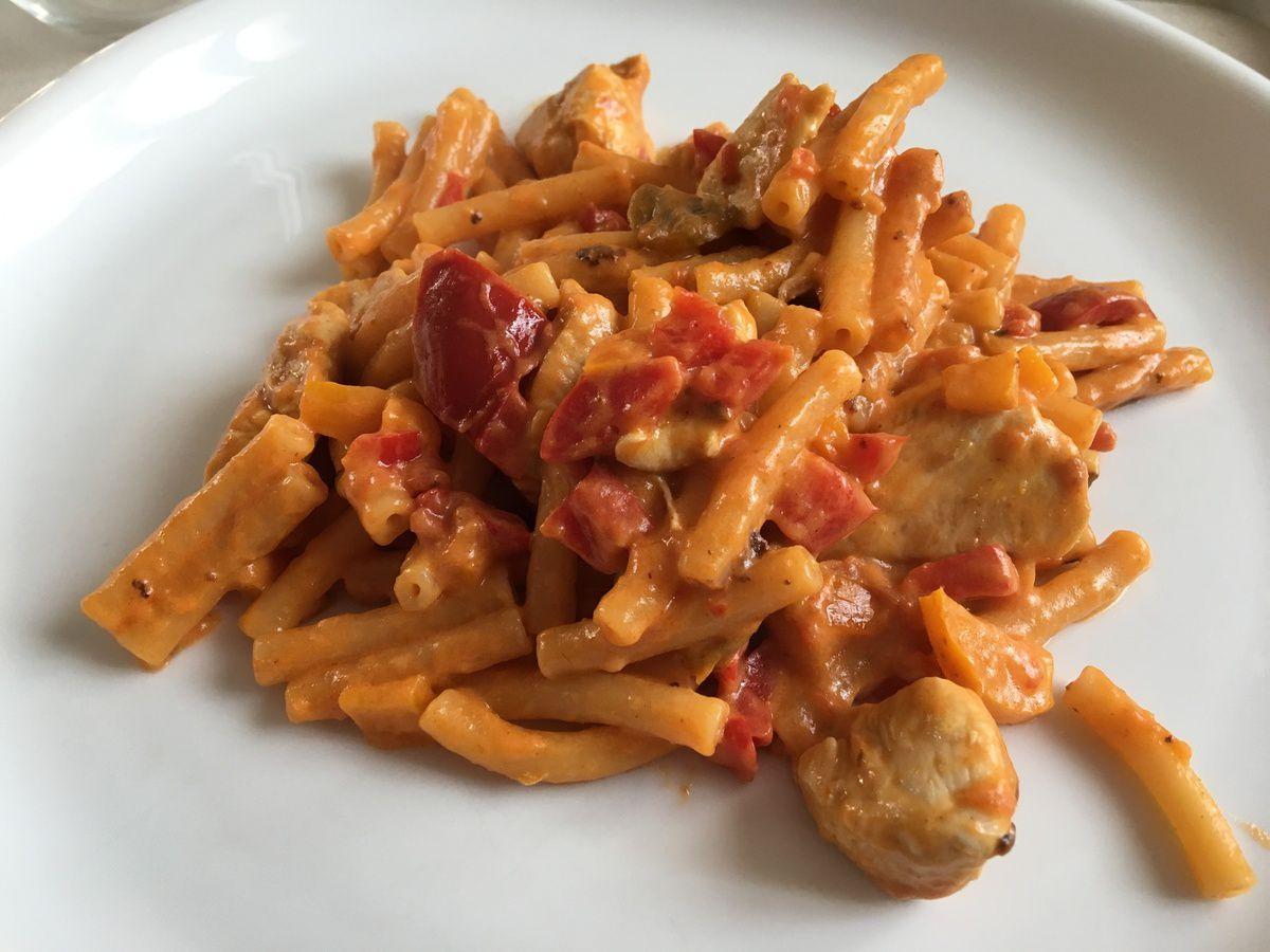 one pot pasta poulet/poivron