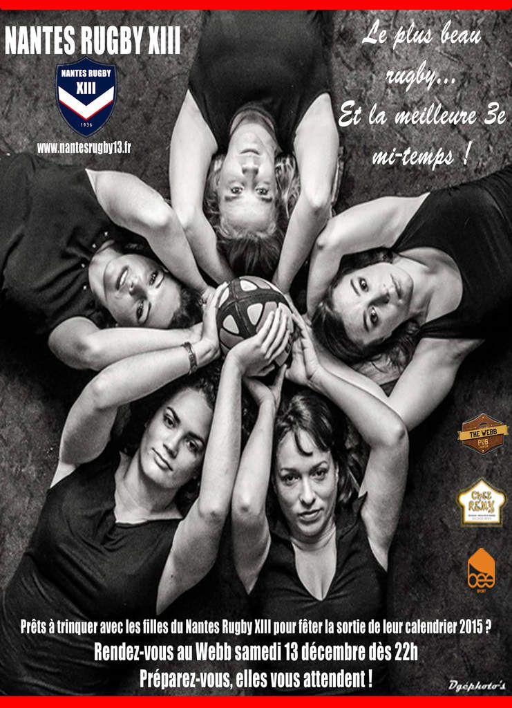 Soirée de lancement du calendrier 2015 des féminines du NRXIII !