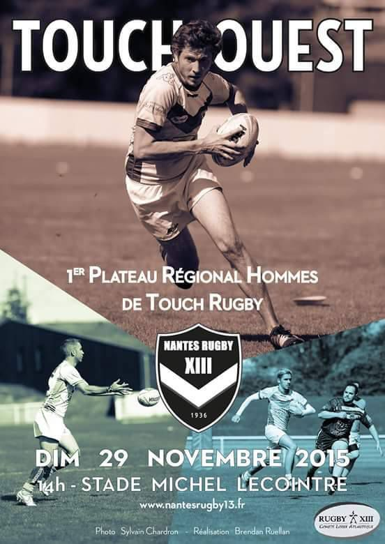 dimanche 29 novembre 1er plateau r gional de touch nantes rugby 13. Black Bedroom Furniture Sets. Home Design Ideas