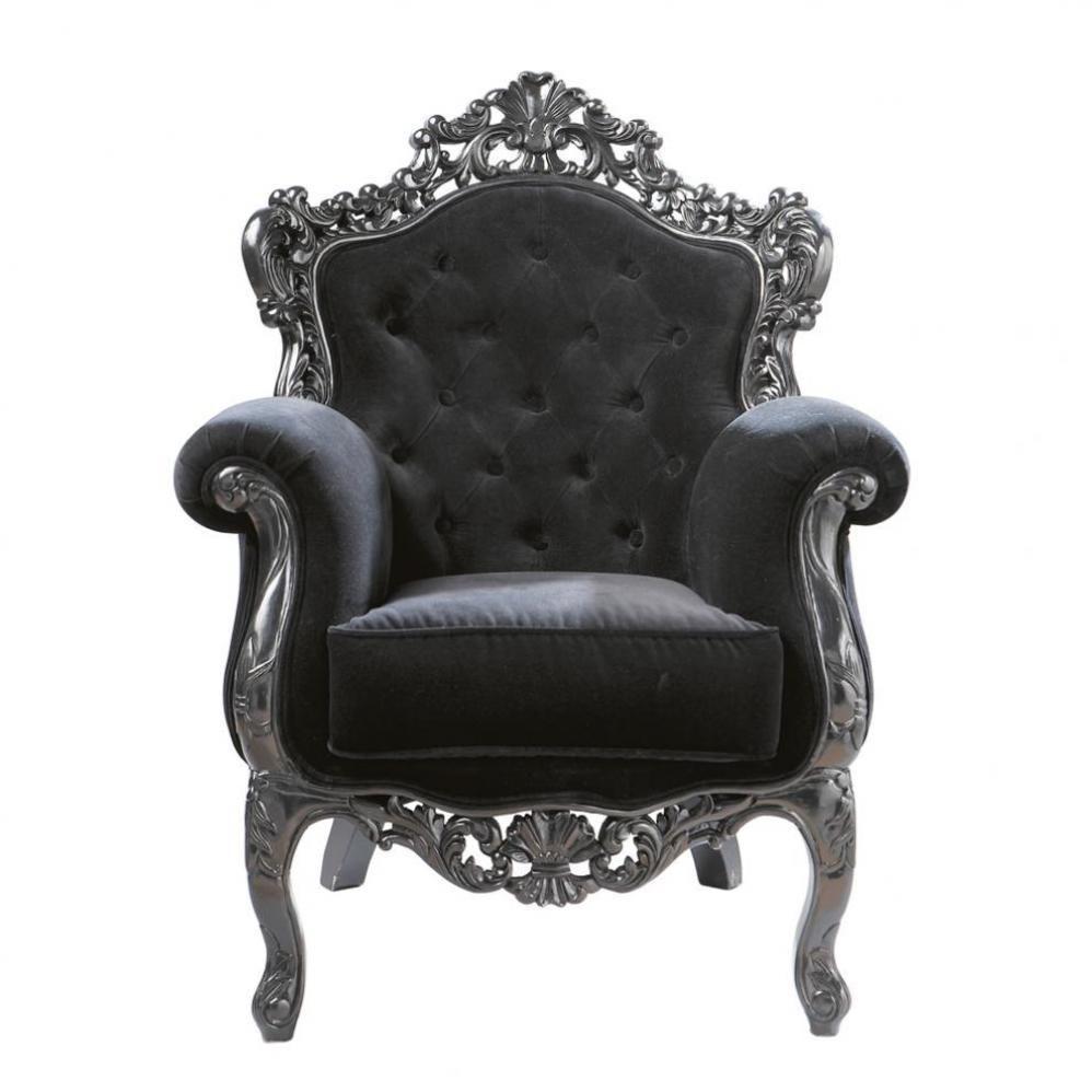 (4) http://www.maisonsdumonde.com/FR/fr/produits/fiche/fauteuil-noir-capitonn-barocco-50140196.htm