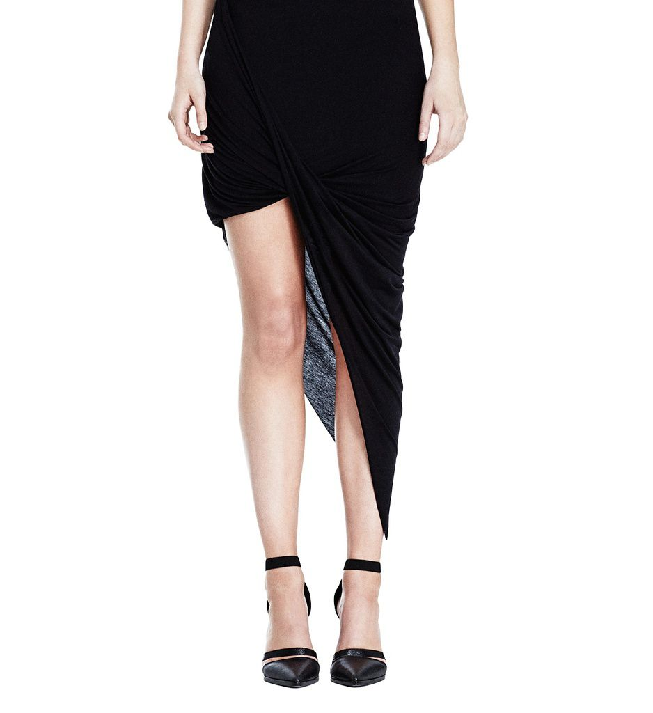 (1) http://www.helmutlang.com/kinetic-jersey-asymmetrical-wrap-skirt/E01HW351,default,pd.html?start=33&cgid=all-items