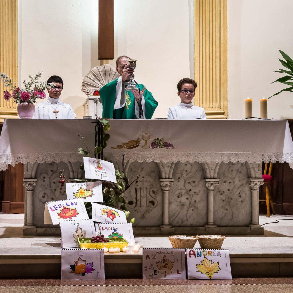 Roquefort messe en famille octobre 2017