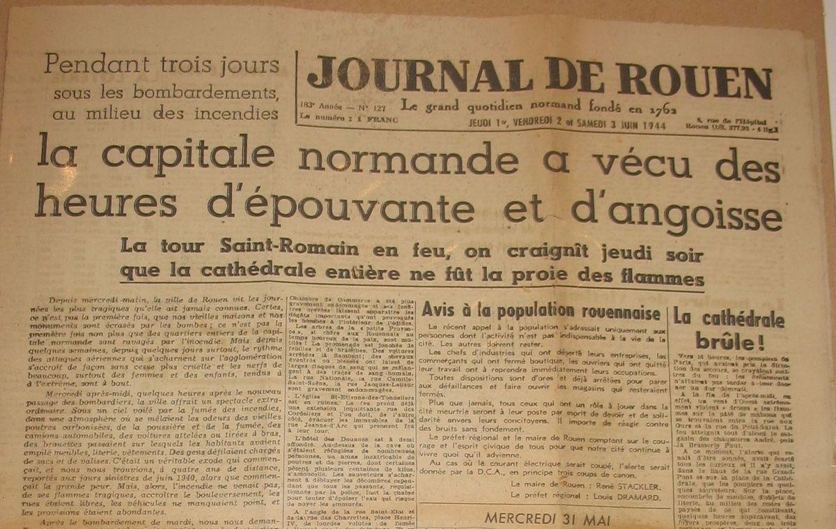 70e Anniversaire du D-Day - Yvetot