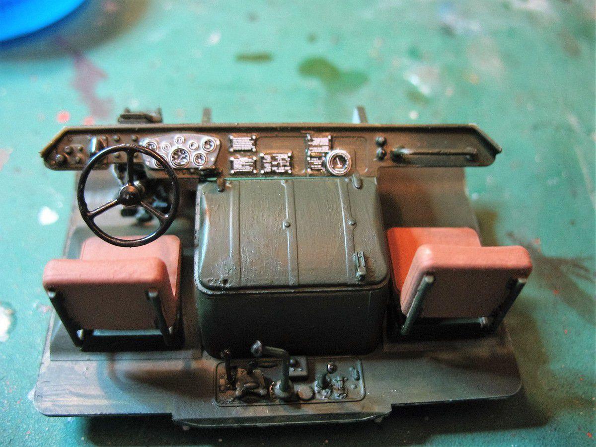 GAZ 66 Tanker - Kit Trumpeter 1/35e