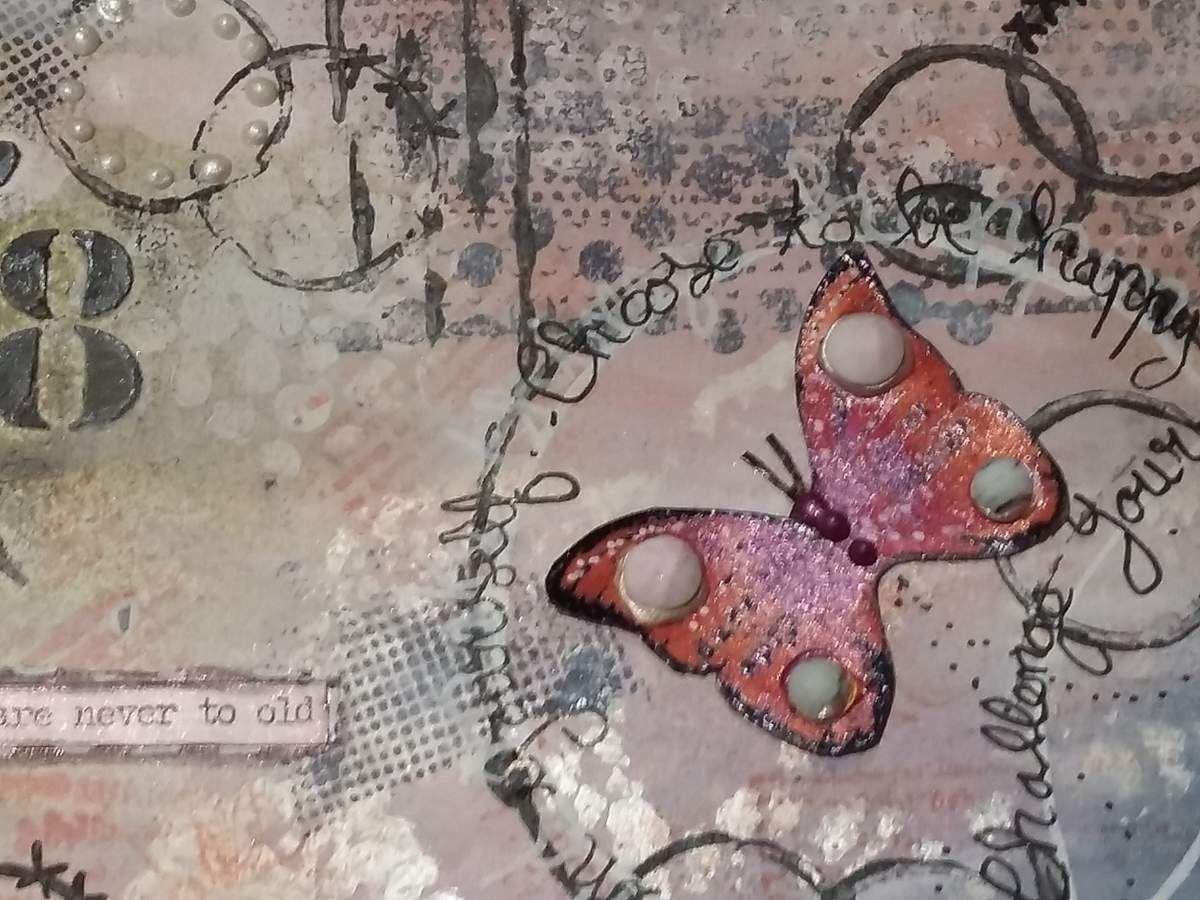 Art journal page &quot&#x3B;Dreem&quot&#x3B;
