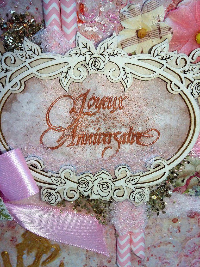 Carte Anniversaire - Love Clipping Prima