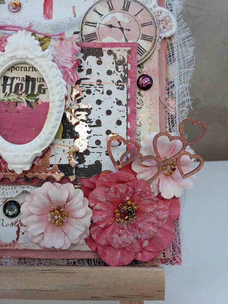 Prima - Rossibelle card with video tutorial