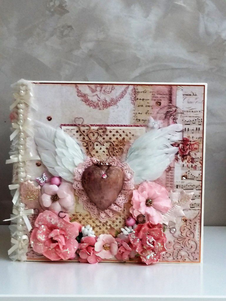 Wedding mini album Love clipping -Wild and Free Prima collection - Video Overview