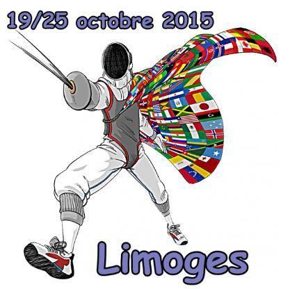 Championnats du Monde Vétérans - Limoges du 19 au 25 octobre 2015
