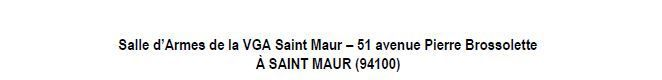Actualité Compétiton - Epée Cadettes - Championnat de Ligue équipes le 13/02/2016 à St Maur