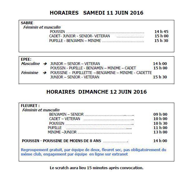 Actualité Compétition - 3 armes - Championnats Départementaux par Equipe - Lagny sur Marne les 11 &amp&#x3B; 12 juin 2016