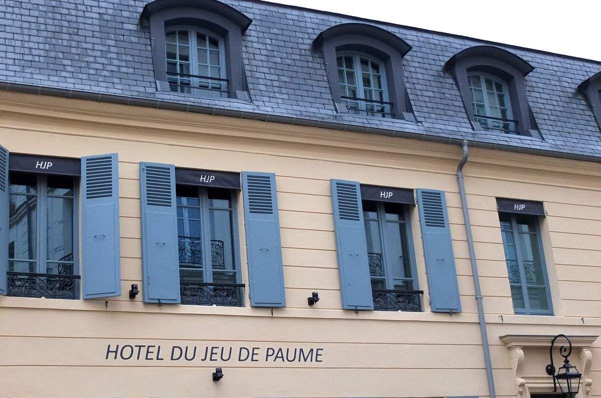 L'Hôtel du Jeu de Paume, heureux mariage de styles