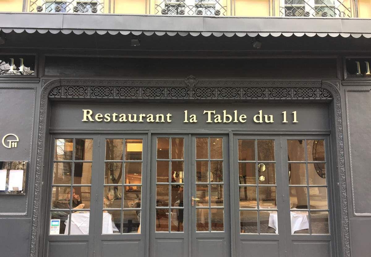 La Table du 11 : elle a tout d'une grande !