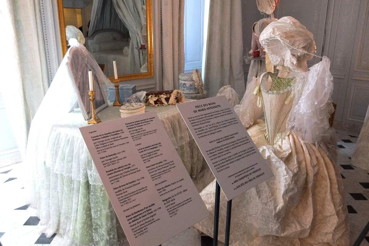 Pièces des bains de Marie-Antoinette © Versailles in my pocket