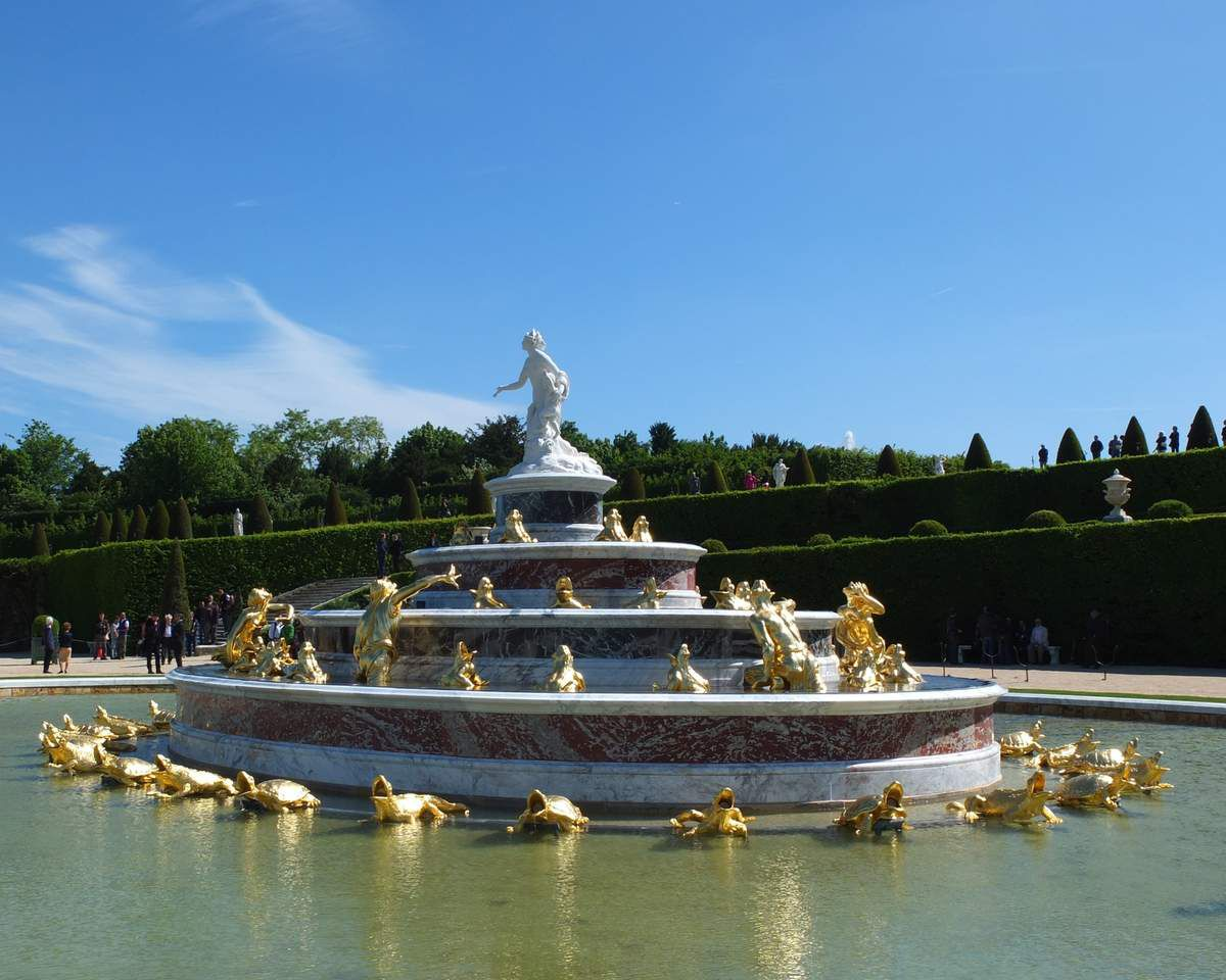 Le bassin de Latone version 2015 © Versailles in my pocket