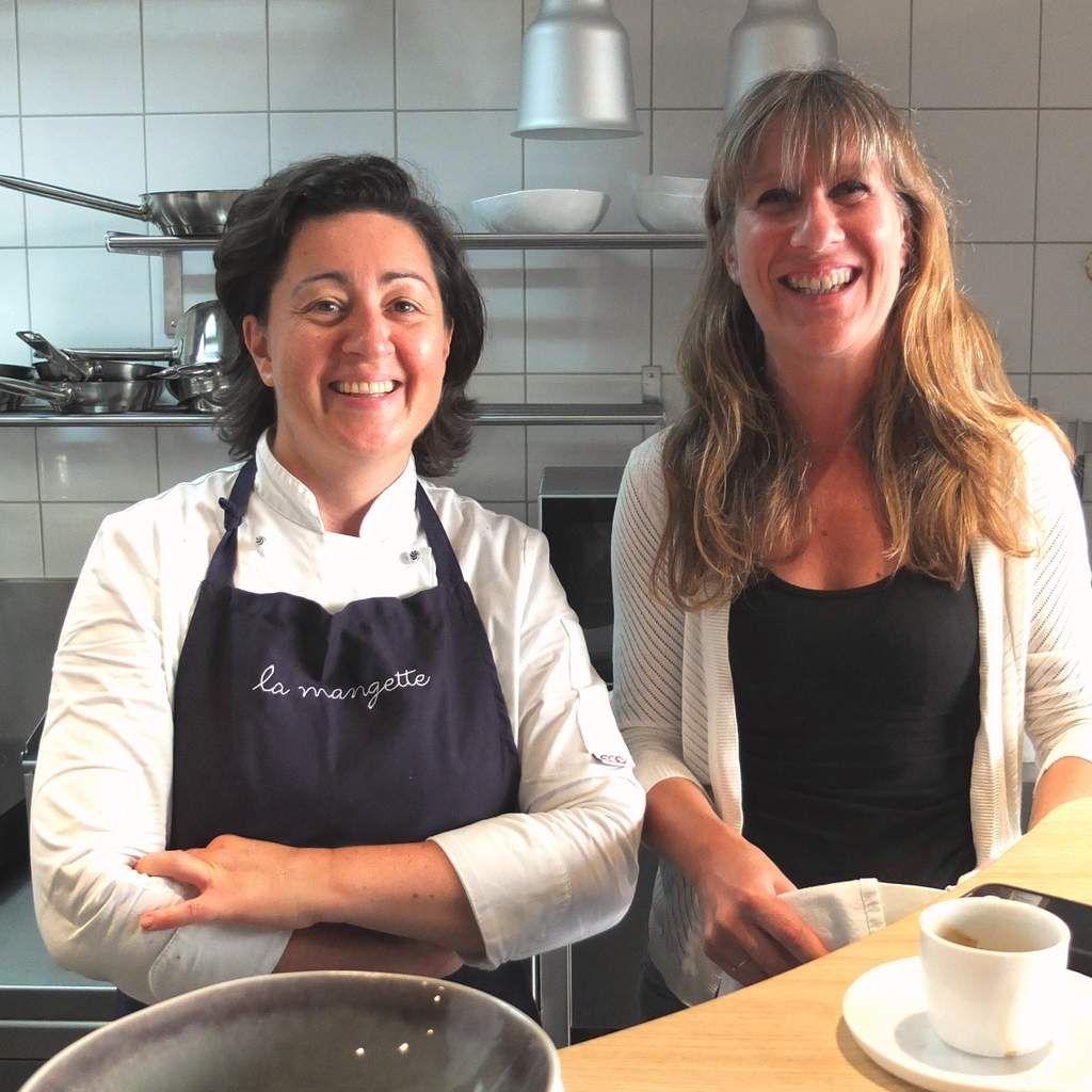 La chef Cécile Hatchuel et Marie Garcia, Responsable de la salle © Versailles in my pocket