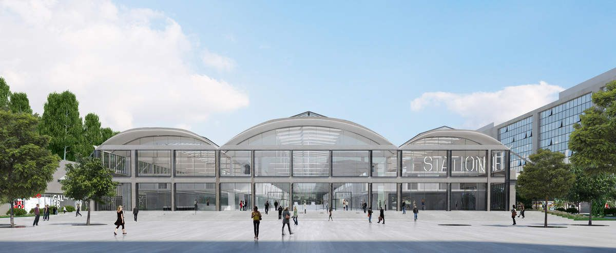 STATION F©WILMOTTE & ASSOCIES ARCHITECTES