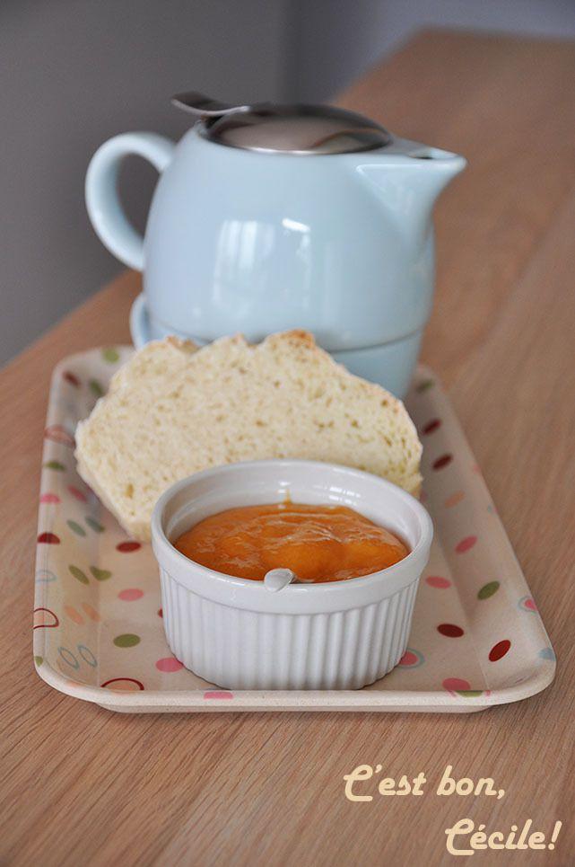 Abricot Curd (Sans beurre)