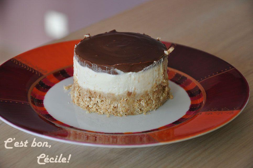 Mini-bavarois vanille chocolat